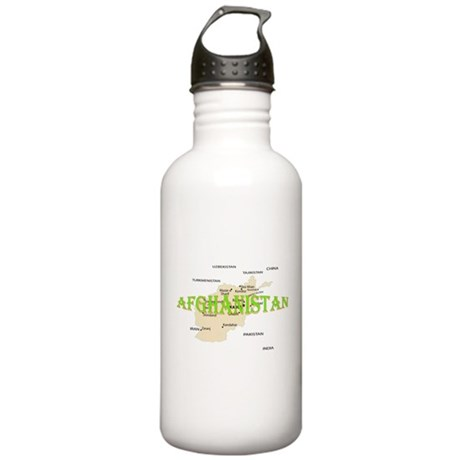 Afghanistan Stainless Water Bottle 1.0L