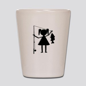 REEL GIRL Shot Glass