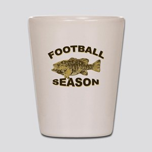 FOOTBALL SEASON Shot Glass