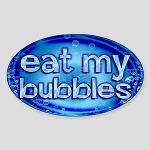 Bubbles Sticker (Oval)