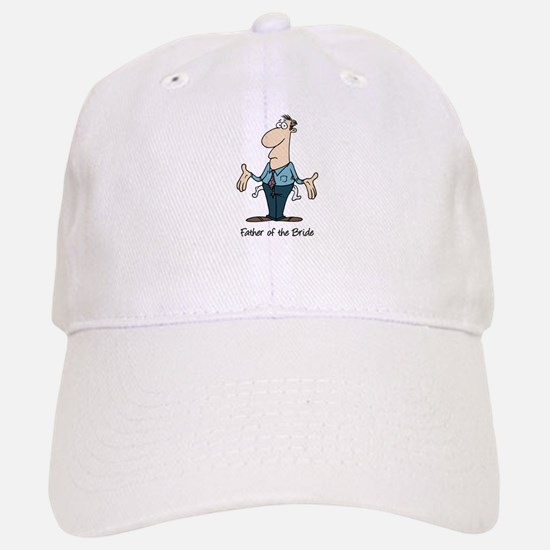 Funny Father of the Bride Baseball Baseball Cap