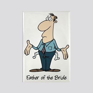Funny Father of the Bride Rectangle Magnet