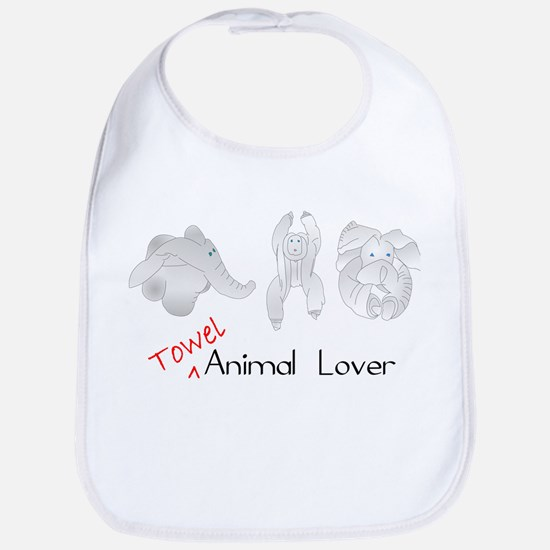 Towel Animal Lover Bib