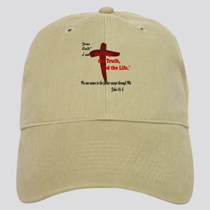 Jesus is the way,truth,life. Cap