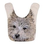 Cairn Terrier Puppy Polyester Baby Bib