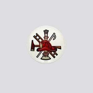 Firefighter/Rescue Tools Mini Button