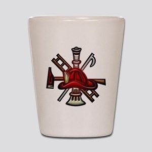Firefighter/Rescue Tools Shot Glass