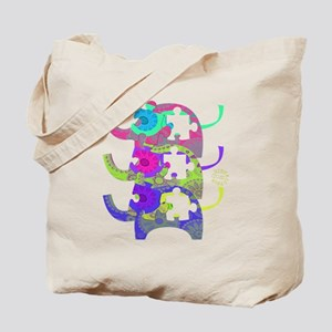 ELEPHANTS FOR AUTISM Tote Bag
