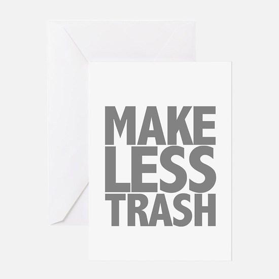Make Less Trash Greeting Card