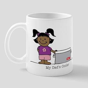 My Dad's Cooler Girl 2 Mug