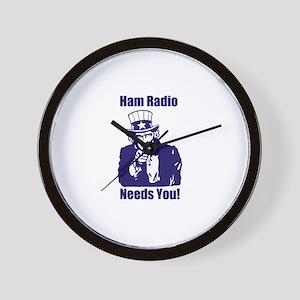 Ham Radio Needs You! Wall Clock