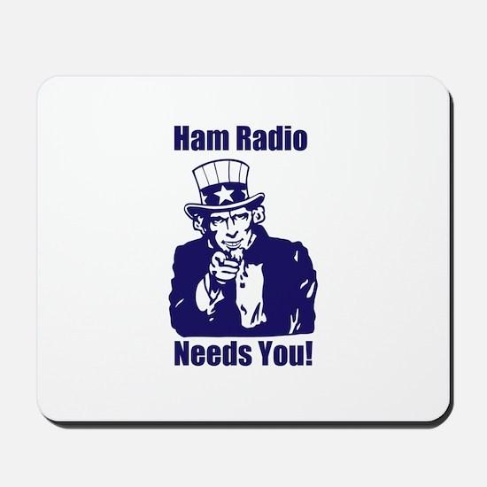 Ham Radio Needs You! Mousepad