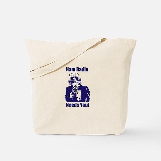 Ham Radio Needs You! Tote Bag