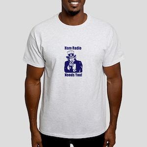 Ham Radio Needs You! Light T-Shirt