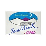 JavaMusiK Rectangle Magnet