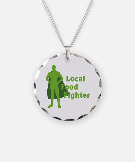 Local Food Fighter Necklace