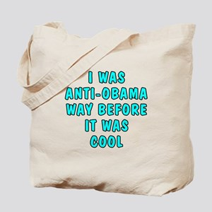 I was anti-Obama Tote Bag