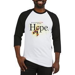 Autism HOPE Ribbon (Aunt) Baseball Jersey