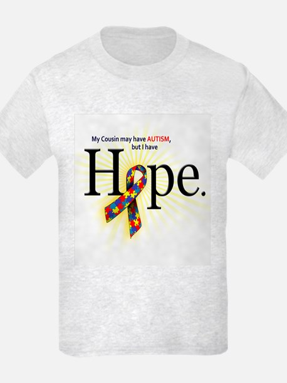 Autism HOPE Ribbon (Cousin) T-Shirt