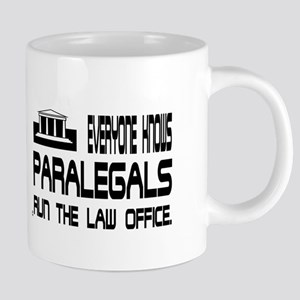 3-PARALEGALS-RUN 20 oz Ceramic Mega Mug