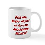 Autism Awareness Month Mug