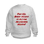 Autism Awareness Month Kids Sweatshirt