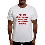 Autism Awareness Month Light T-Shirt