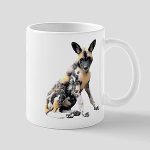 Painted Puppy Mug