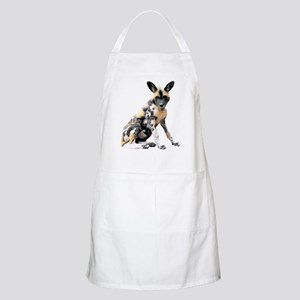 Painted Puppy Apron