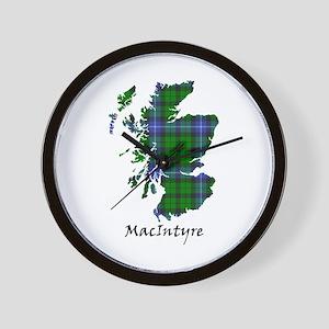 Map-MacIntyre Wall Clock