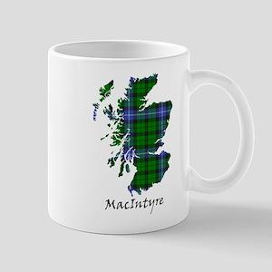 Map-MacIntyre 11 oz Ceramic Mug