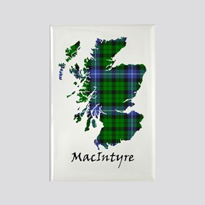 Map-MacIntyre Rectangle Magnet