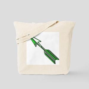 """""""Green Arrow"""" Tote Bag"""