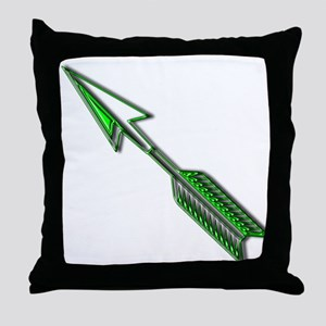 """Green Arrow"" Throw Pillow"