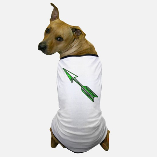 """Green Arrow"" Dog T-Shirt"