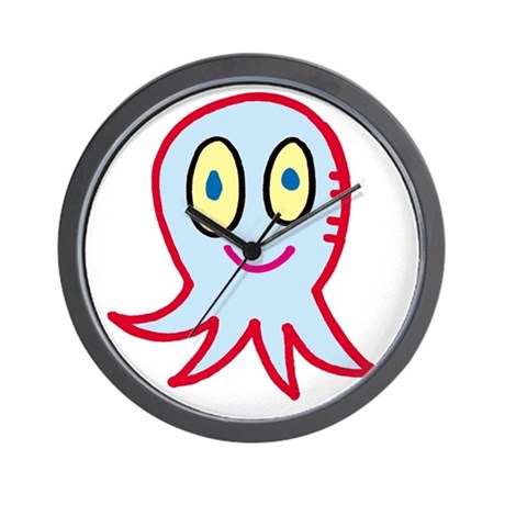 Smiling Octopus Wall Clock
