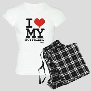 I LOVE MY BOYFRIEND Women's Light Pajamas