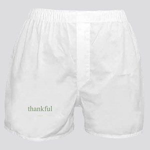 thankful Boxer Shorts