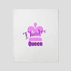Theatre Queen Throw Blanket