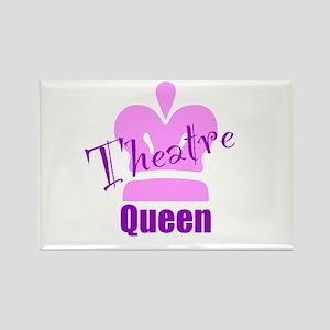 Theatre Queen Rectangle Magnet