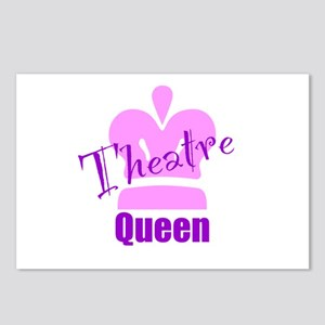 Theatre Queen Postcards (Package of 8)