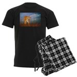 Animal Men's Dark Pajamas