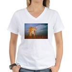 Animal Women's V-Neck T-Shirt