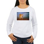 Animal (Front) Women's Long Sleeve T-Shirt