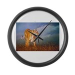 Animal Large Wall Clock