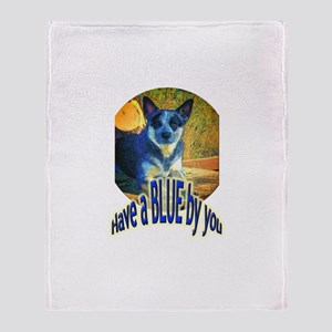 """""""Blue By You"""" Throw Blanket"""