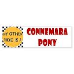 My Other Ride Is A Connemara Pony Bumper Sticker