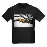 Animal (Front) Kids Dark T-Shirt