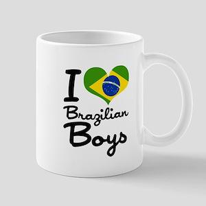 I Heart Brazilian Boys Mug