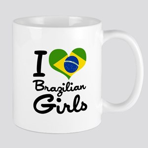 I Heart Brazilian Girls Mug